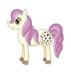 Cute horse vector
