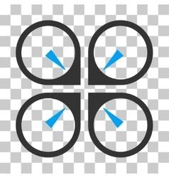 Hover drone icon vector