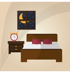 Resting and sleep design vector