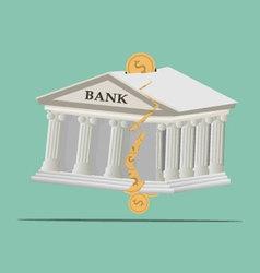 Bank broken vector