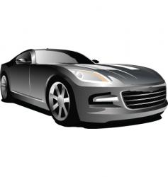 car sedan vector image vector image