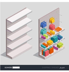 Design elements on shopping theme vector