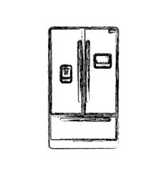 fridge household appliances vector image vector image