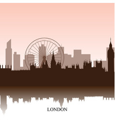 london cityscape vector image