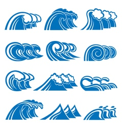 Set of waves vector