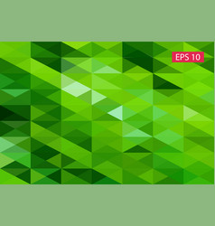 green abstract geometric background from vector image