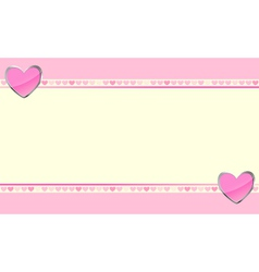 hearts background wallpaper vector image