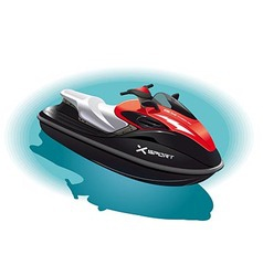 Water bike vector