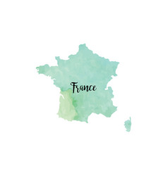abstract france map vector image