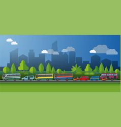 Public transportt vector
