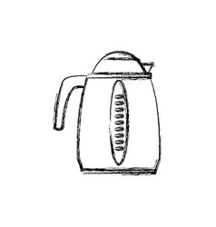 Kettle electric pot household appliance vector