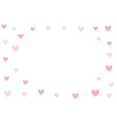 Valentines day background holiday white and pink vector