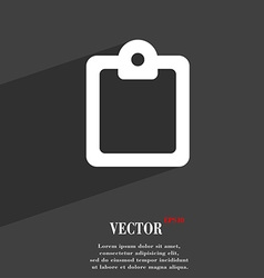 Text file icon symbol flat modern web design with vector