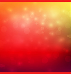 Abstract red and yellow color tone background vector