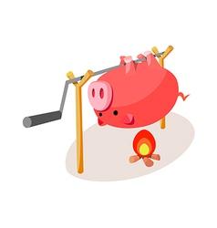 Icon barbecue vector