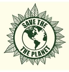 Planet design vector image