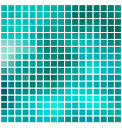Turquoise green rounded mosaic background over vector
