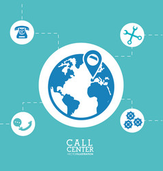 Worldwide call center location support vector