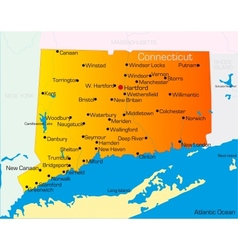 Connecticut vector