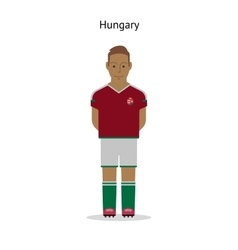 Football kit hungary vector
