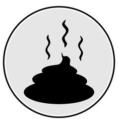 Shit icon vector image