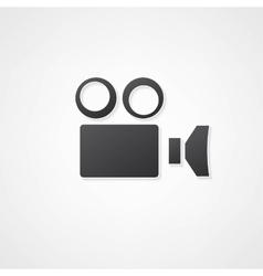 Camcorder camera icon vector
