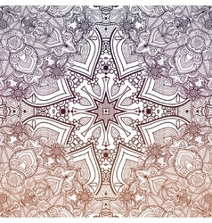 Ornate vintage paisley background vector