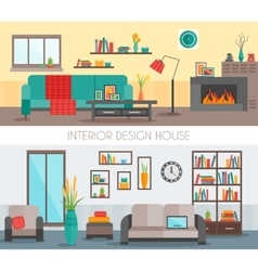 Flat interior compositions vector