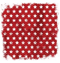 grunge stars background 1006 vector image vector image