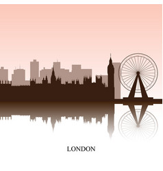 London cityscape vector