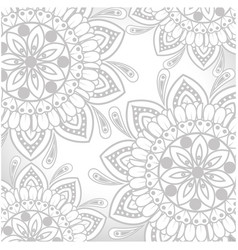 Mandalas background design vector