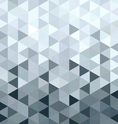 Metal silver pattern low poly triangle geometry vector