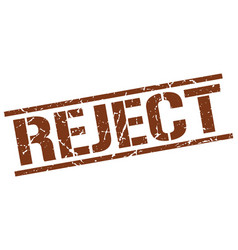 Reject stamp vector