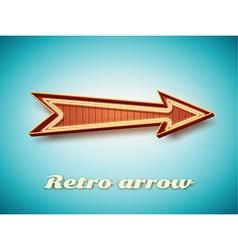 Retro vintage sign vector image vector image