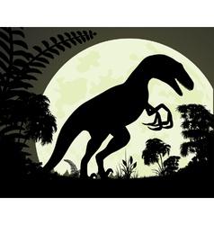 Raptor vector image