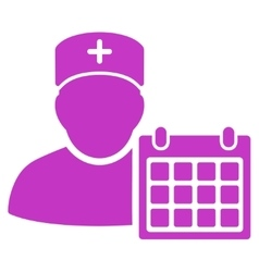 Doctor appointment icon vector