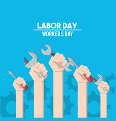 american labor day tradition celebration vector image