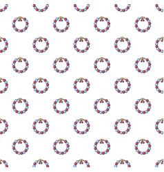 Bead pattern seamless vector
