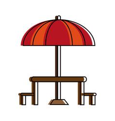 parasol or umbrella icon image vector image