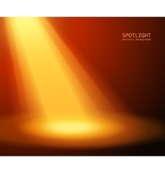 spotlight effect scene background vector image