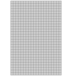 graph paper 1mm square a4 size vector image