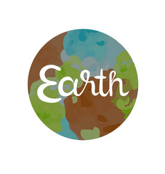 earth symbol of the four elements vector image vector image