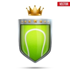 Premium symbol of tennis vector