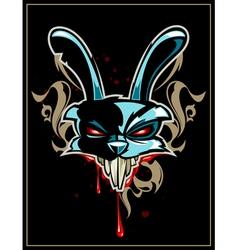 Rabbit head vector