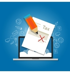 Tax amnesty  government forgive vector