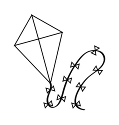 Isolated kite toy design vector