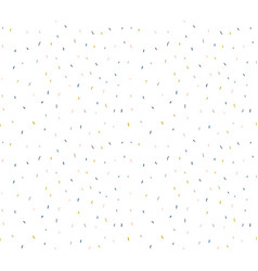 Abstract confetti background pattern repeating vector