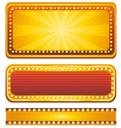 Casino banner sign vector