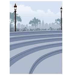 Park Cityscape view vector image