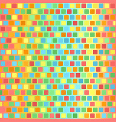 Rounded square pattern seamless tile background vector
